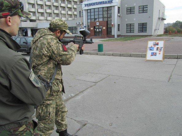 В Сумах отметили День защитника Украины (ФОТО), фото-1
