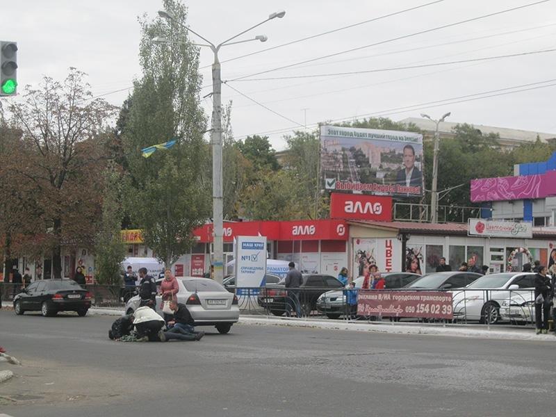 В центре Краматорска сбили женщину (фото) - фото 1