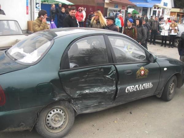 На Тернопільщині не змогли поділити дорогу «Daewoo Sens» та «BMW» (фото) (фото) - фото 1