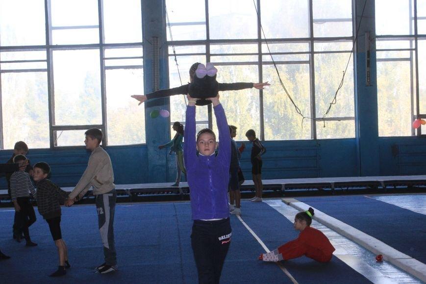 В Днепродзержинске начался чемпионат области по спортивной акробатике, фото-12