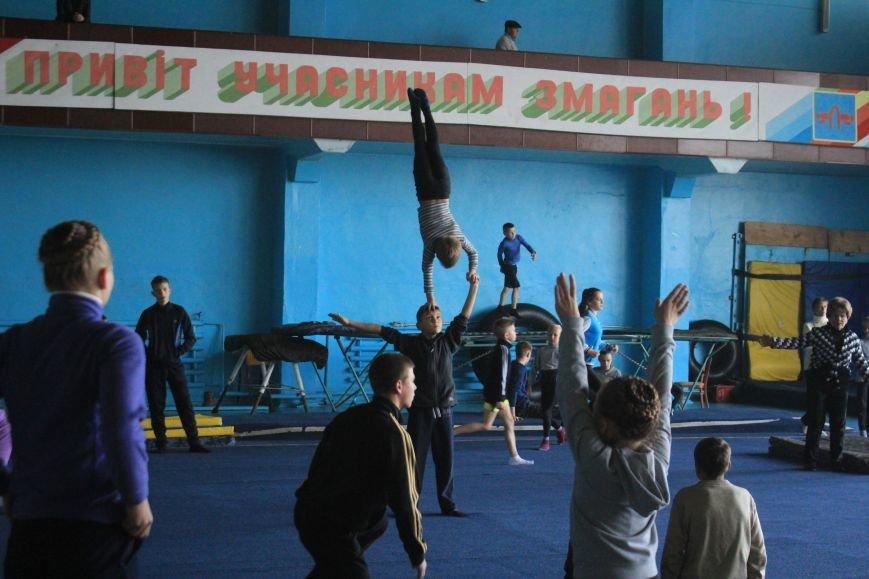 В Днепродзержинске начался чемпионат области по спортивной акробатике, фото-5