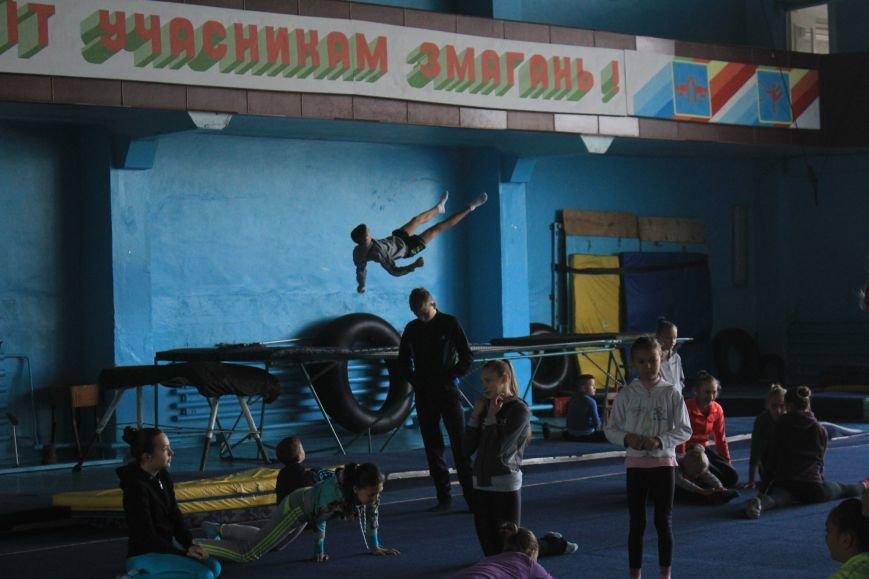 В Днепродзержинске начался чемпионат области по спортивной акробатике, фото-2