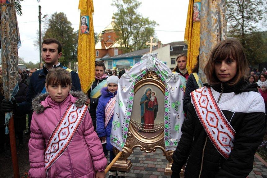 На Прикарпатті відкрили пам'ятник Борцям за волю України, фото-8
