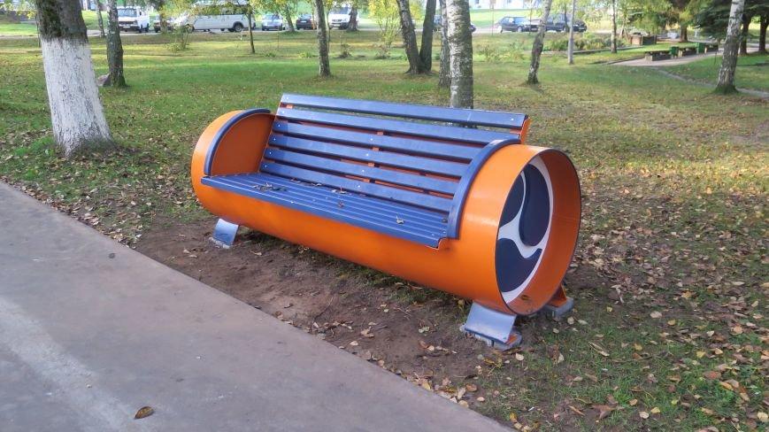 В Новополоцке подвели итоги конкурса на лучшую скамейку, фото-1