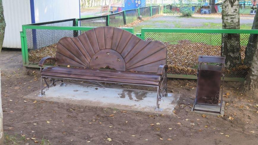 В Новополоцке подвели итоги конкурса на лучшую скамейку, фото-2