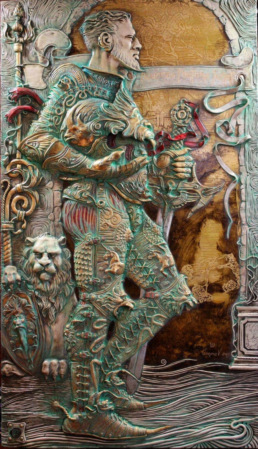 Криворожский художник Виктор Горяев: Чтобы увидеть красоту, мне не обязательно выходить из дома (ФОТО) (фото) - фото 1