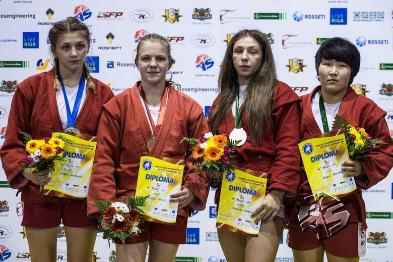 Старооскольская спортсменка стала победительницей первенства мира по самбо (фото) - фото 1