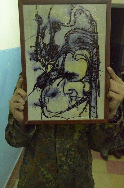 Одесситам покажут войну, увиденную художником-добровольцем (ФОТО, ВИДЕО) (фото) - фото 1