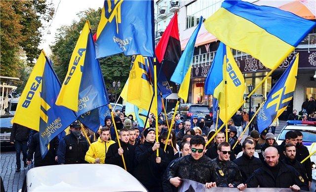Марш националистов в Одессе. (фото) - фото 1