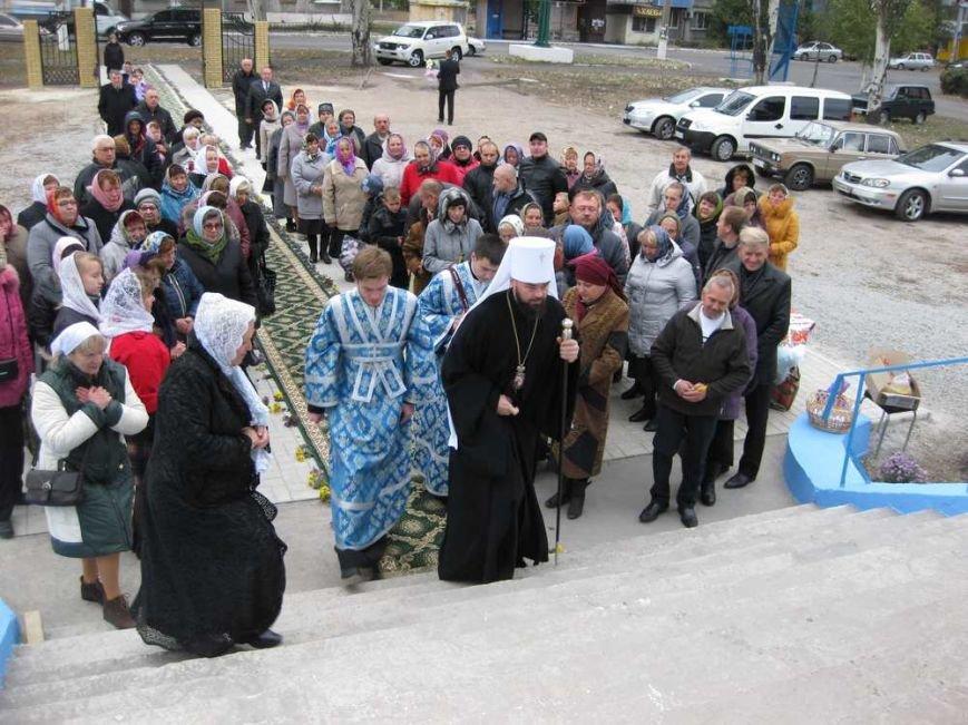 Свято-Покровский храм г. Доброполья отметил свой престольный праздник (ФОТО), фото-12