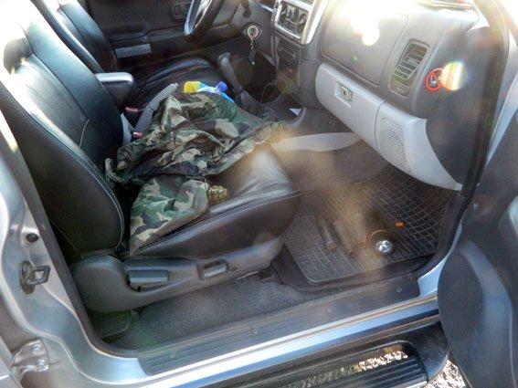 В Першотравневом районе авто с гранатой (ФОТО) (фото) - фото 1