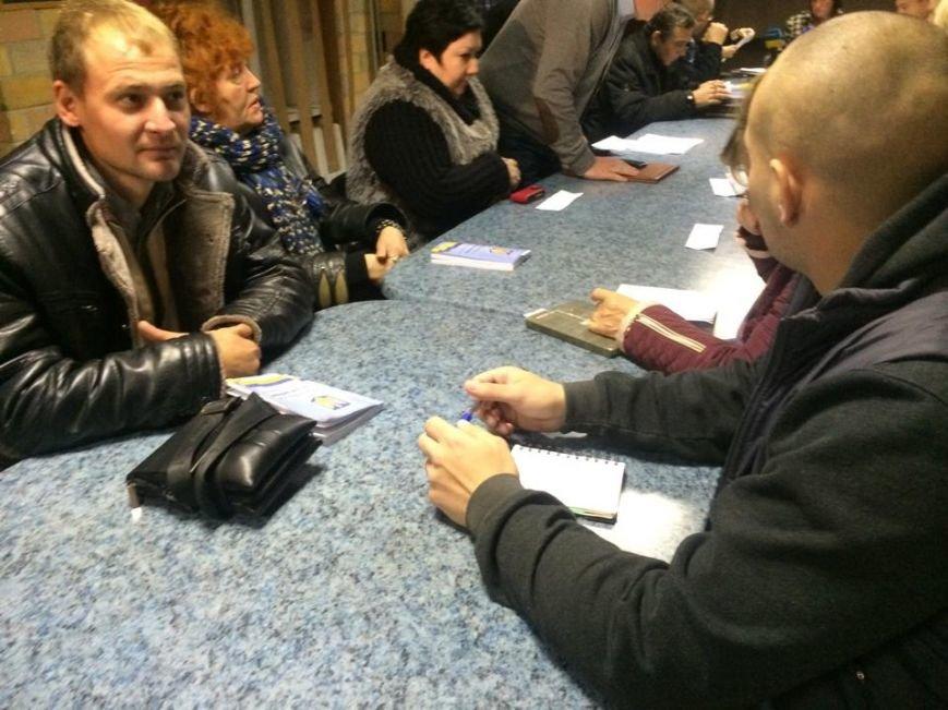 В Мариуполе после 8 часов заседания заблокирована работа территориальной комиссии (ФОТО, Видео), фото-2