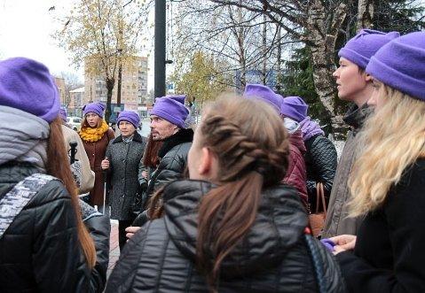 Жителям столицы Коми напомнили о поддержке слепых горожан, фото-1