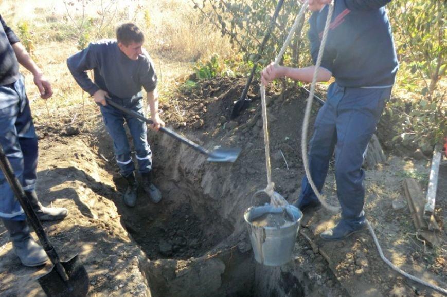 На Днепропетровщине спасатели предотвратили гибель коровы (ФОТО) (фото) - фото 2