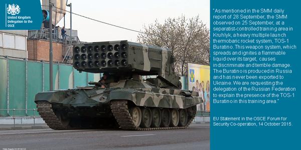 Великобритания официально попросила Россию объяснить появление на Донбассе «Буратино» (фото) - фото 1