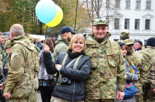 Как Кривой Рог и Днепропетровщина отметили День защитника Украины (ФОТО) (фото) - фото 2