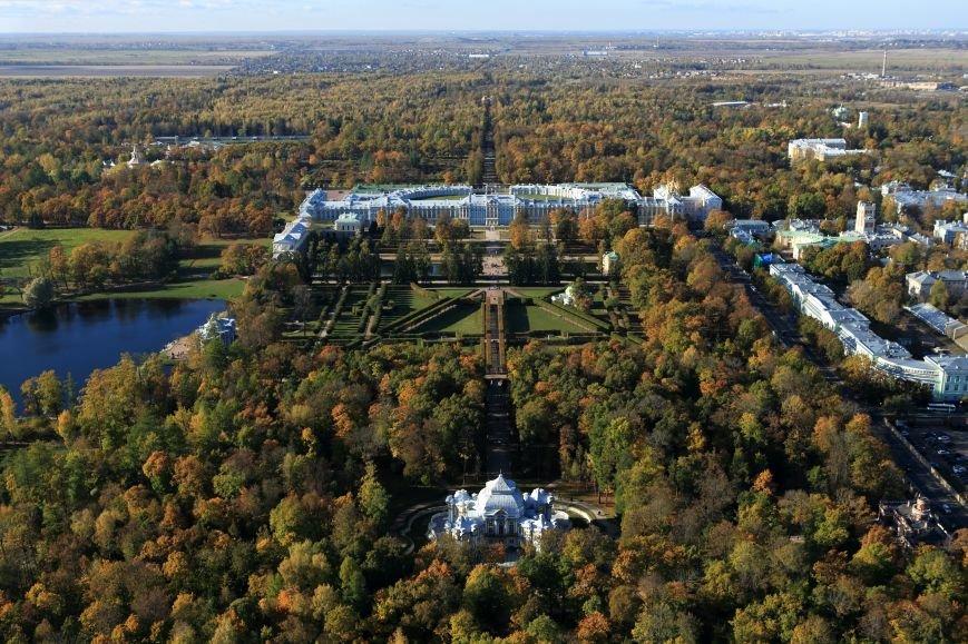 Город Пушкин с высоты птичьего полета на фотографиях Дмитрия Песочинского, фото-6