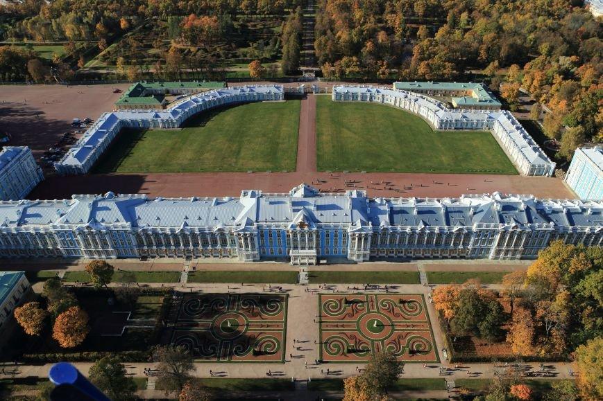 Город Пушкин с высоты птичьего полета на фотографиях Дмитрия Песочинского, фото-1