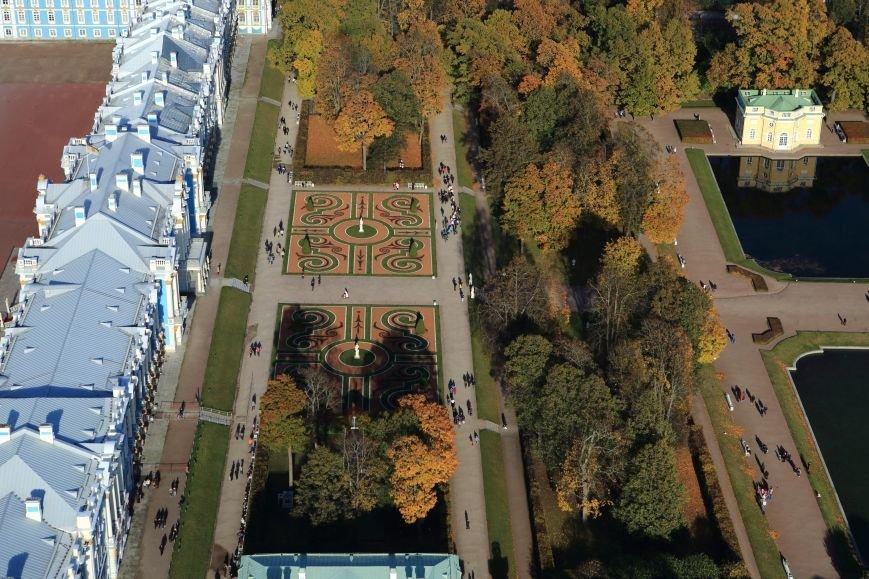 Город Пушкин с высоты птичьего полета на фотографиях Дмитрия Песочинского, фото-5