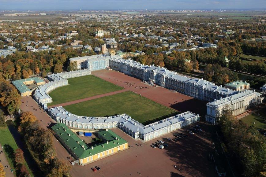 Город Пушкин с высоты птичьего полета на фотографиях Дмитрия Песочинского, фото-3