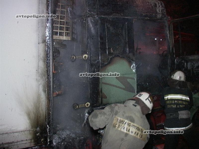 В Киеве заживо сгорел водитель грузовика (ФОТО), фото-1