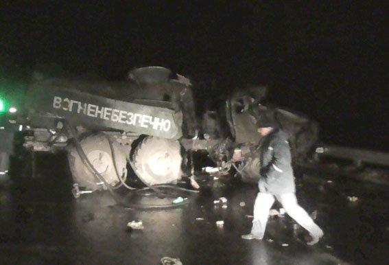 На Полтавщині військова техніка потрапила в аварію: є постраждалі (ФОТО) (фото) - фото 1