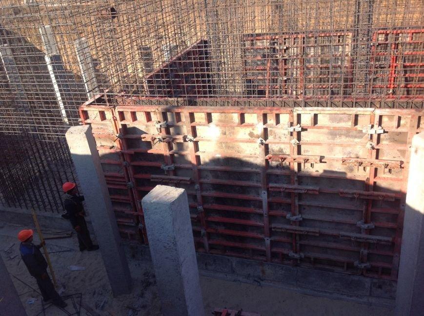 Триває будівництво очисних споруд