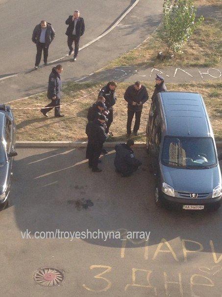 В Деснянском районе сапёры ищут бомбу в автомобиле (ФОТОФАКТ) (фото) - фото 2