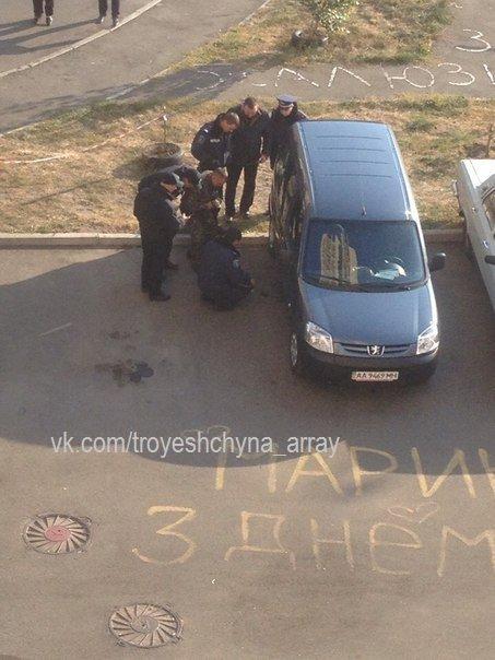В Деснянском районе сапёры ищут бомбу в автомобиле (ФОТОФАКТ) (фото) - фото 3