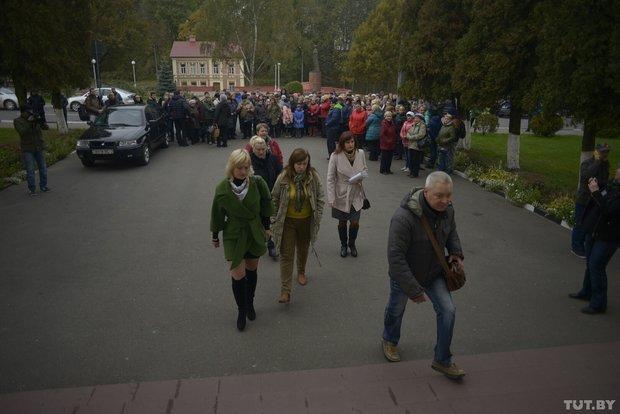 В Полоцке бастуют предприниматели. Переговоры с властями ни к чему не привели, фото-1