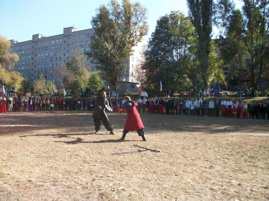 В Днепродзержинске стартовали игры юных патриотов «Сокол» (Джура») (фото) - фото 2