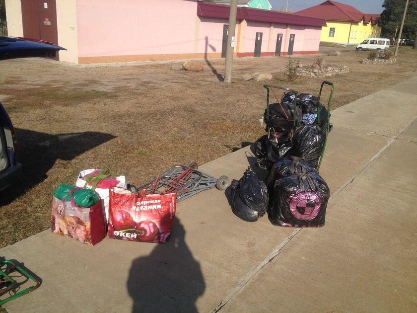 Транспортные милиционеры задержали четырех украинок, которые окольными путями везли почти полтонны контрабандного сала (фото) - фото 1
