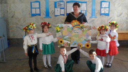 В Павлоградском районе дети неделю отмечали День защитника Украины (ФОТО), фото-2