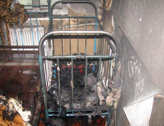 Полтавські правоохоронці виклали фото з місця пожежі, в якій загинуло троє дітей (фото) - фото 3