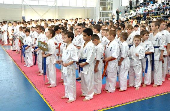 В Полтаві проходе кубок області з карате серед дітей (фото) - фото 1