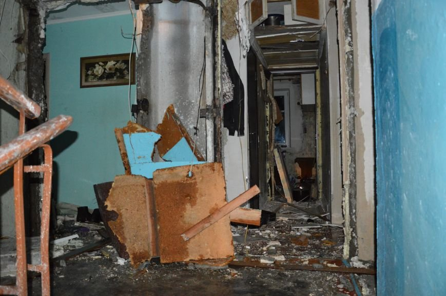Опубликовано видео пожара после взрыва  в жилом доме в Кривом Роге (ВИДЕО, ФОТО) (фото) - фото 1