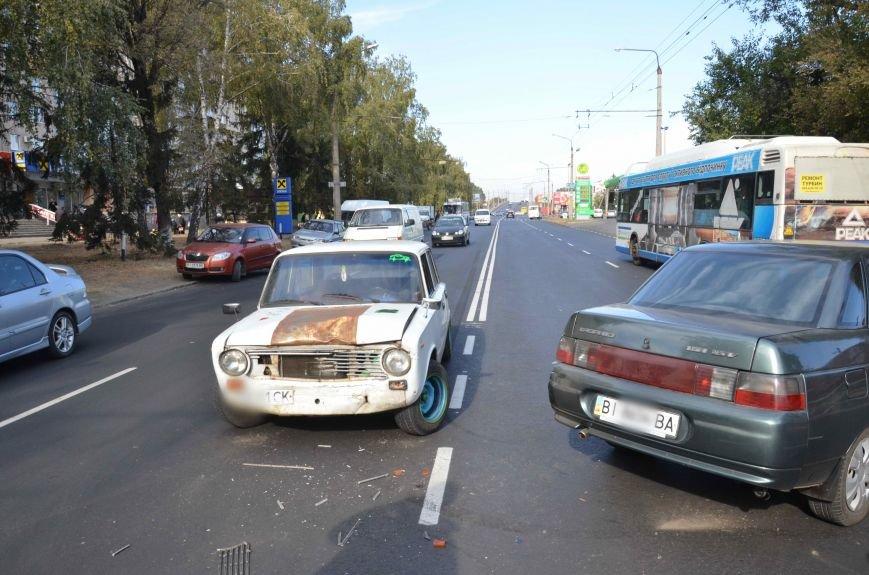 В Полтаві зіткнулися дві машини (ФОТОФАКТ), фото-1