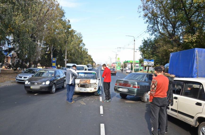 В Полтаві зіткнулися дві машини (ФОТОФАКТ), фото-2