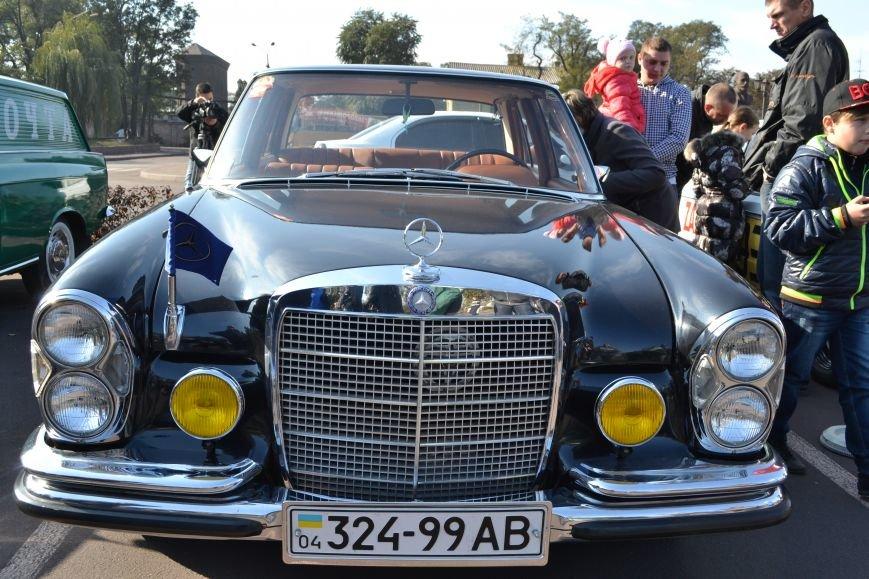 В Днепродзержинск съехались ретро-автомобили, фото-6