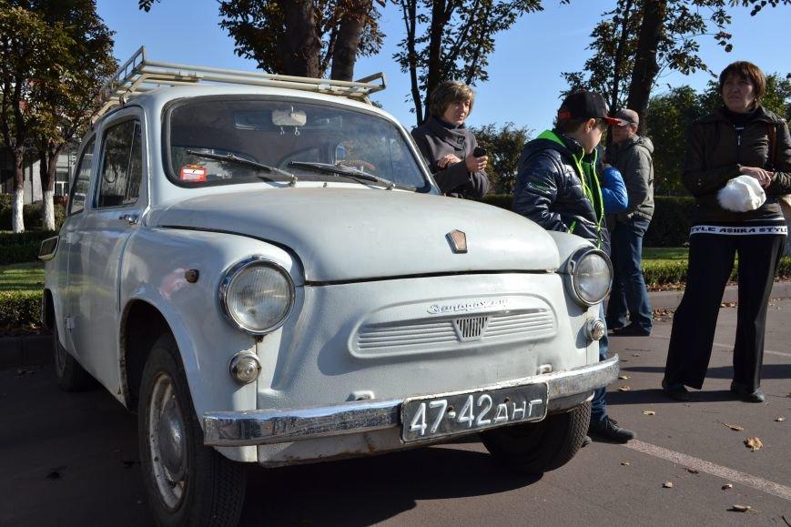 В Днепродзержинск съехались ретро-автомобили, фото-12