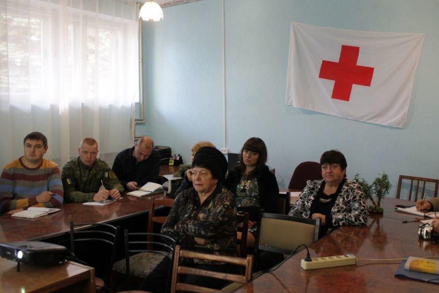 Добропольский Красный Крест рассказал про мины, фото-3