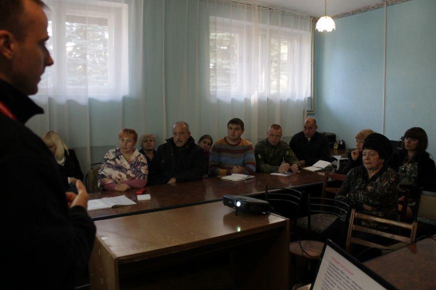 Добропольский Красный Крест рассказал про мины, фото-1