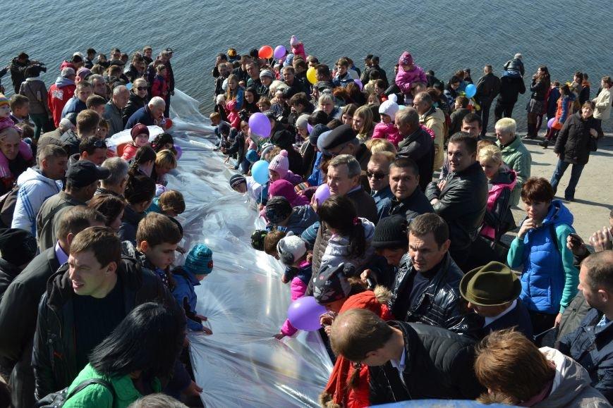 Днепродзержинцы приняли участие в зарыблении Днепра, фото-4