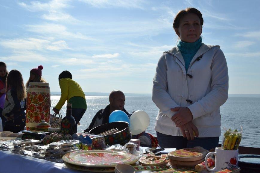 Днепродзержинцы приняли участие в зарыблении Днепра, фото-7