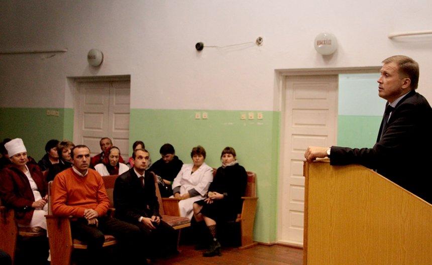 Олег Гончарук вручив керівництву Верховинської ЦРЛ сертифікат на отримання УЗД-апарату (ФОТО), фото-9