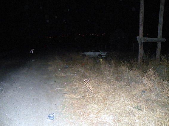 На Очаковской трассе перевернулось легковушка: водитель погиб мгновенно (ФОТО) (фото) - фото 2