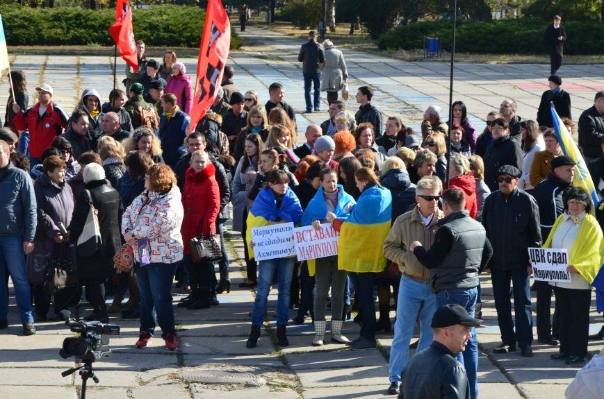 В Мариуполе состоялся массовый политический митинг. Демократические силы боролись с регионалами (ФОТОРЕПОРТАЖ+ВИДЕО), фото-20