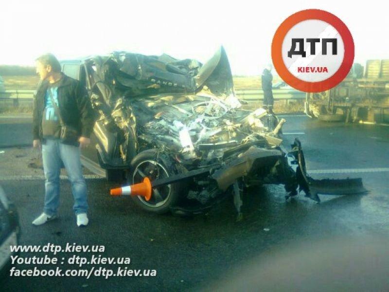 Стали известны подробности масштабного ДТП на трассе Киев-Житомир (ФОТО), фото-1