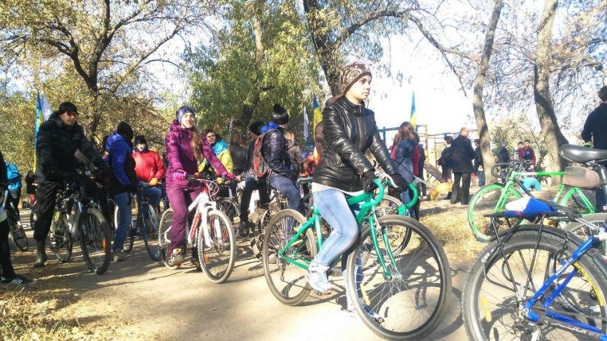 Павлоградцы закрывали велосипедный сезон массовым велопробегом (фото) - фото 1