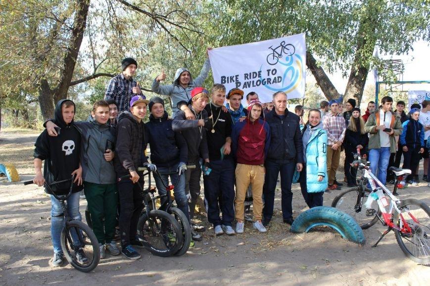 Павлоградцы закрывали велосипедный сезон массовым велопробегом (фото) - фото 2